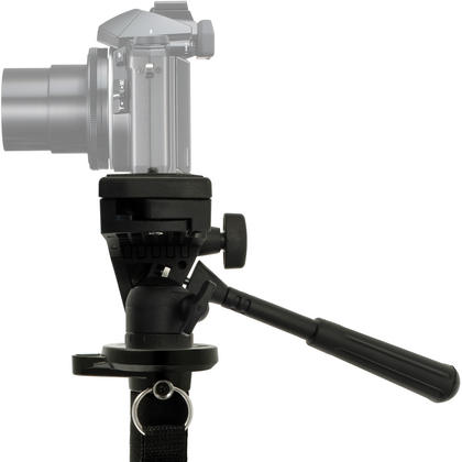 "iGadgitz Kit of 160cm (63"") 4 Section Extendable Aluminium Monopod with Tilt Pan Head for Camera & Camcorder Thumbnail 3"