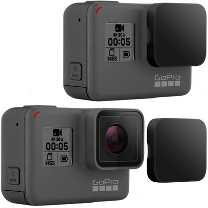 Optix Pro 2x Black Plastic Hard Lens Cap Cover for GoPro Hero5 Black Action Camera ONLY Thumbnail 2
