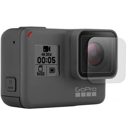 Optix Pro 1x LCD & Lens Screen Protector & Hard Lens Cap Cover for GoPro Hero5 Black Action Camera ONLY Thumbnail 2