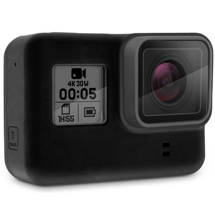Optix Pro Black Silicone Housing Protective Case for GoPro Hero5 Black Action Camera (NOT suitable for Hero5 Session) Thumbnail 3