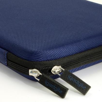 iGadgitz Blue EVA Travel Hard Case Cover for Lenovo Tab 2 A10, IdeaPad MIIX 310, Tab 3 10 Business Thumbnail 3