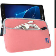 "iGadgitz Pink NeopreneTravel Case Cover for Samsung Tab A 7"" SM-T280 Tablet"