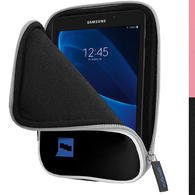 "iGadgitz Black NeopreneTravel Case Cover for Samsung Galaxy Tab A 7"" SM-T280 Tablet"