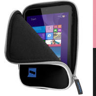 "iGadgitz Black NeopreneTravel Case Cover for Linx 7"" EM-I8270 Tablet"