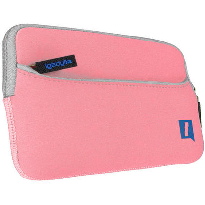 "iGadgitz Pink NeopreneTravel Case Cover for Lenovo Tab 3 7"" Tablet Thumbnail 3"