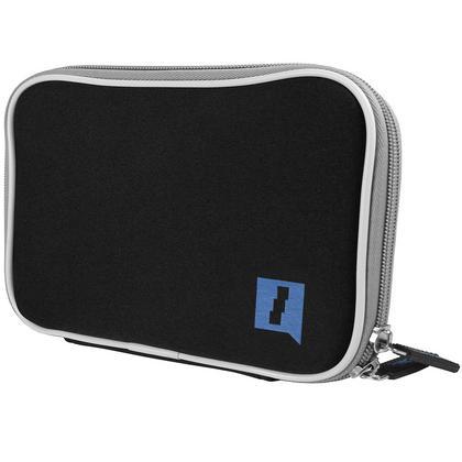 """iGadgitz Black NeopreneTravel Case Cover for Lenovo Tab 3 7"""" Tablet Thumbnail 2"""