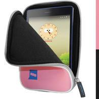 "iGadgitz Pink NeopreneTravel Case Cover for Lenovo Tab 3 7"" Tablet"