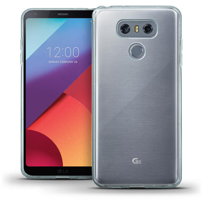 iGadgitz Glossy TPU Gel Skin Case Cover for LG G6 H870 (2017) + Screen Protector Thumbnail 1
