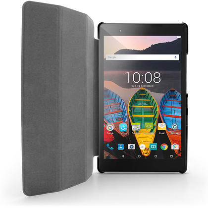 """iGadgitz PU Leather Smart Cover Case for Lenovo Tab 3 8"""" Plus TB-8703 with Sleep/Wake + Stand + Screen Protector Thumbnail 3"""
