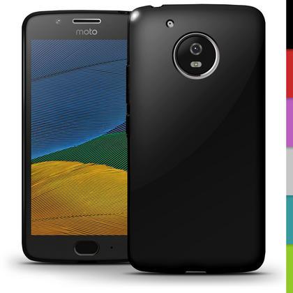 iGadgitz Glossy TPU Gel Skin Case Cover for Motorola Moto G5 (Lenvo Moto G5) + Screen Protector Thumbnail 2