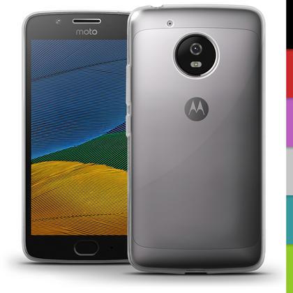 iGadgitz Glossy TPU Gel Skin Case Cover for Motorola Moto G5 (Lenvo Moto G5) + Screen Protector Thumbnail 3