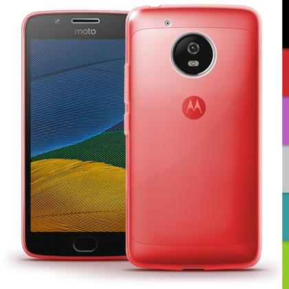 iGadgitz Glossy TPU Gel Skin Case Cover for Motorola Moto G5 (Lenvo Moto G5) + Screen Protector Thumbnail 4