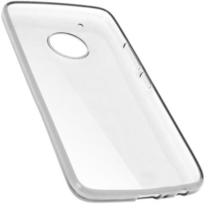 iGadgitz Glossy TPU Gel Skin Case Cover for Motorola Moto G5 Plus (Lenvo Moto G5 Plus) + Screen Protector Thumbnail 2