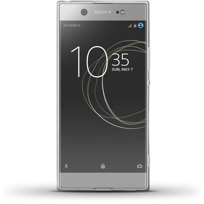 iGadgitz Glossy TPU Gel Skin Case Cover for Sony Xperia XA1 Ultra + Screen Protector Thumbnail 3