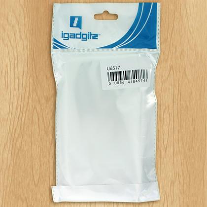 iGadgitz Glossy TPU Gel Skin Case Cover for Sony Xperia XA1 Ultra + Screen Protector Thumbnail 4