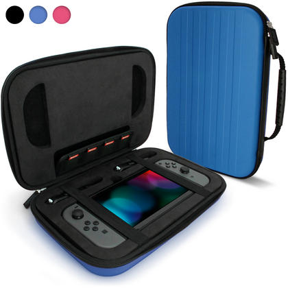 iGadgitz EVA Hard Travel Case for Nintendo Switch Cover with Shockproof Foam Inner & Carrying Handle Thumbnail 3