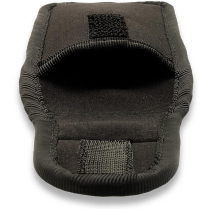 iGadgitz Black Neoprene Pouch Sleeve Case for Digital Voice Recorders (Internal Dimensions: 125x45x21mm) Thumbnail 4