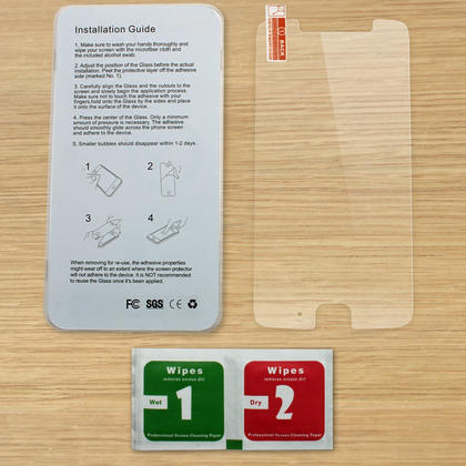 iGadgitz Tempered Glass Screen Protector for Motorola Moto G 5th Generation (2017) Shatterproof 9H Hardness Anti Scratch Thumbnail 2