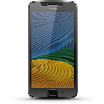 iGadgitz Tempered Glass Screen Protector for Motorola Moto G 5th Generation (2017) Shatterproof 9H Hardness Anti Scratch Thumbnail 3