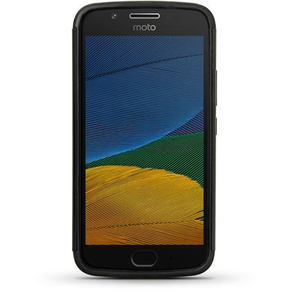 iGadgitz Hard PC Back Shell Cover & Silicone Case for Motorola Moto 5th Generation (Lenovo Moto G5) + Screen Protector Thumbnail 3