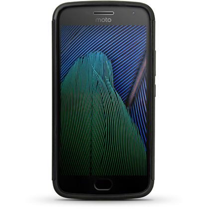 iGadgitz Hard PC Back Shell Cover & Silicone Case for Motorola Moto 5th Generation Plus (Moto G5 Plus) + Screen Prot Thumbnail 3