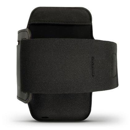 iGadgitz Reflective Black Sports Jogging Gym Armband for Motorola Moto 5th Gen Plus (Lenovo Moto G5 Plus) + Key Slot Thumbnail 4