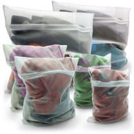 iGadgitz Home Zippered Laundry Bags Reusable Mesh Washing Bags