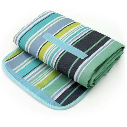 CampTeck 200 x 145cm Folding Picnic Blanket Waterproof Backing Travel Picnic Rug for Outdoors Beach Camping with Handle Thumbnail 3