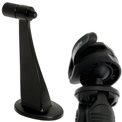 """iGadgitz 2 in 1 Kit Mini Lightweight Table Top Stand Tripod Grip Stabilizer + Binocular Metal Adapter 1/4"""" Screw Thread Thumbnail 2"""