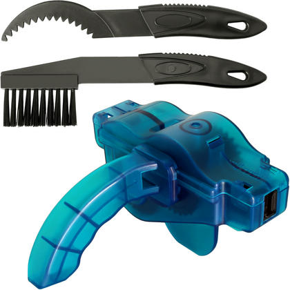 CampTeck Bike Chain Cleaner Cyclone Chain Scrubber Bicycle Machine Chain Brush Cleaning Tool for all Types of Bicycles Thumbnail 1