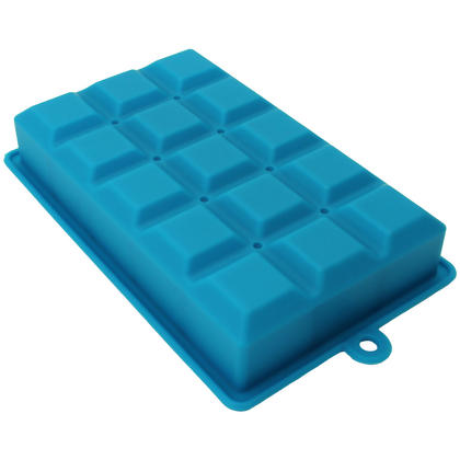 iGadgitz Home Silicone Ice Cube Tray 15 Square Food Grade Ice Cube Moulds ? Pack of 1 Thumbnail 3