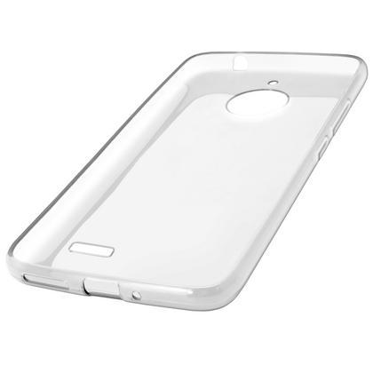 iGadgitz Glossy TPU Gel Skin Case Cover Motorola Moto E4 2017 (Not US Model) + Screen Protector Thumbnail 2