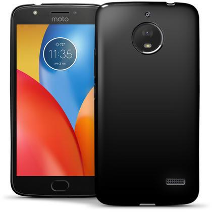 iGadgitz Glossy TPU Gel Skin Case Cover Motorola Moto E4 2017 (Not US Model) + Screen Protector Thumbnail 3