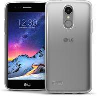 iGadgitz Glossy TPU Gel Skin Case Cover LG K8 2017 M200N + Screen Protector