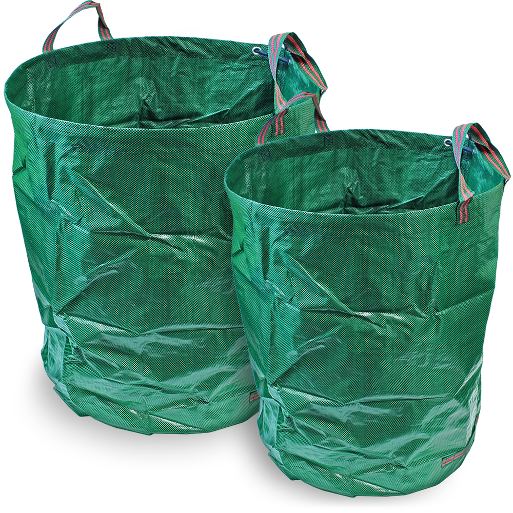 CampTeck Garden Waste Bag Polypropylene Heavy Duty Reusable Garden Refuse Sack