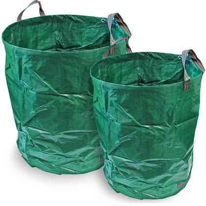CampTeck Garden Waste Bag Polypropylene Heavy Duty Reusable Garden Refuse Sack Thumbnail 1