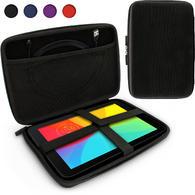 iGadgitz Black EVA Zipper Travel Hard Case Cover Sleeve for LG G Pad 10.1, G Pad 2 10.1, G Pad X 10.1 & G Pad X 2 10.1