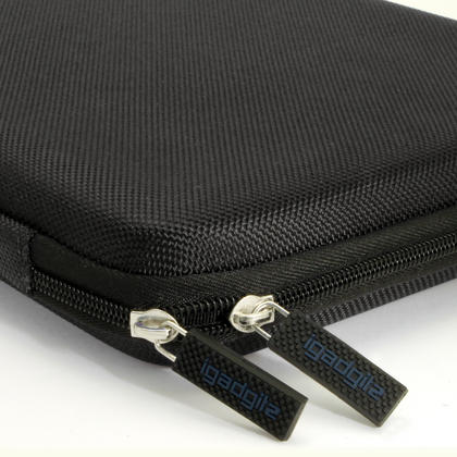 iGadgitz Black EVA Zipper Travel Hard Case Cover Sleeve for Asus MemoPad 10 & ZenPad 10 Thumbnail 3