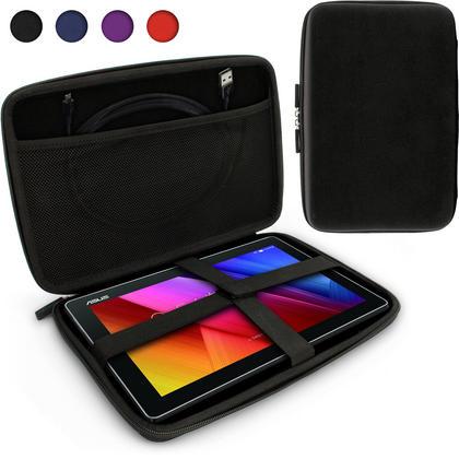 iGadgitz Black EVA Zipper Travel Hard Case Cover Sleeve for Asus MemoPad 10 & ZenPad 10 Thumbnail 1