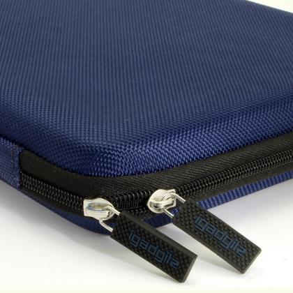 iGadgitz Blue EVA Zipper Travel Hard Case Cover Sleeve for LG G Pad 10.1, G Pad 2 10.1, G Pad X 10.1 & G Pad X 2 10.1 Thumbnail 3