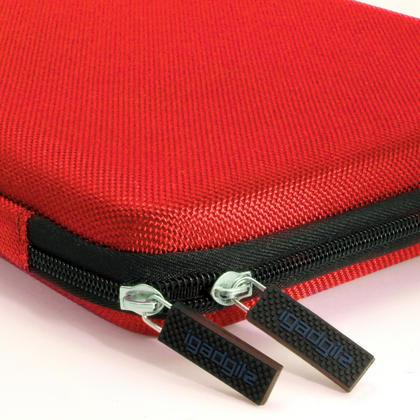 iGadgitz Red EVA Zipper Travel Hard Case Cover Sleeve for Asus MemoPad 10 & ZenPad 10 Thumbnail 3