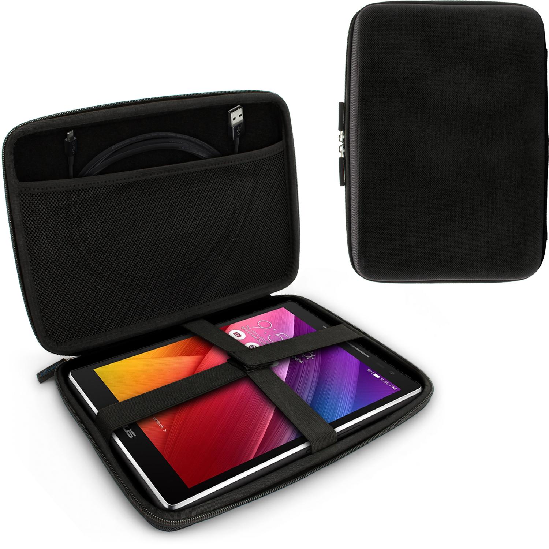 iGadgitz Black EVA Travel Hard Case Cover Sleeve for Asus ZenPad Z10 & ZenPad 3S 10