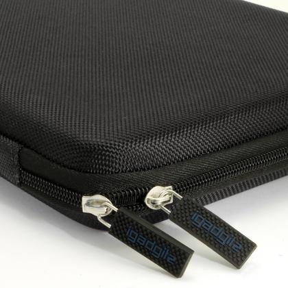 iGadgitz Black EVA Travel Hard Case Cover Sleeve for Asus ZenPad Z10 & ZenPad 3S 10 Thumbnail 3