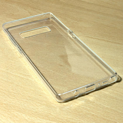 iGadgitz Transparent Clear Glossy TPU Gel Skin Case Cover for Samsung Galaxy Note 8 Thumbnail 3