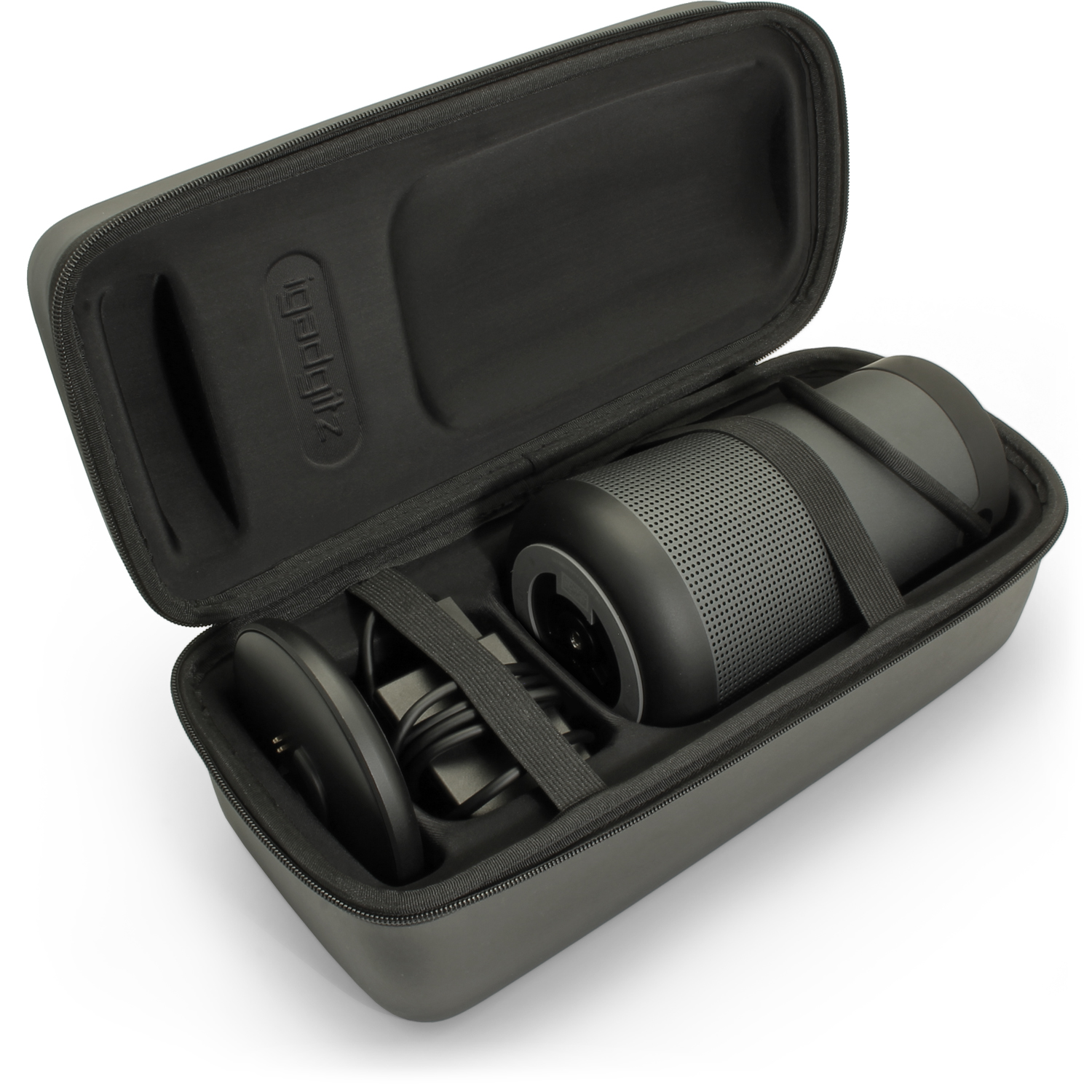 Details about Black EVA Carrying Hard Case for Bose SoundLink Revolve Plus  Bluetooth Speaker