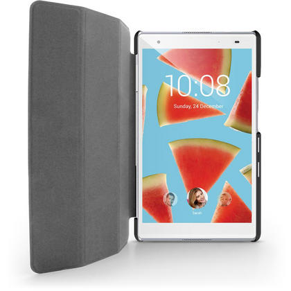 iGadgitz Premium Black PU Leather Smart Cover Case for Lenovo Tab 4 8'' 2017 (Not Plus Model) with Viewing Stand Thumbnail 3