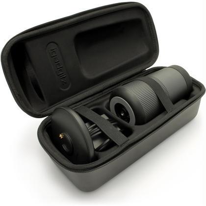 iGadgitz Black EVA Carrying Hard Travel Case Cover for Bose SoundLink Revolve Thumbnail 1