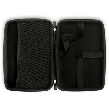 "iGadgitz Black EVA Zipper Travel Hard Case Cover Sleeve for Amazon Fire HD 10.1"" Thumbnail 2"
