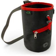 CampTeck Drawstring Chalk Bag for Rock Climbing, Bouldering, Gymnastics, Weightlifting & much more ? Black