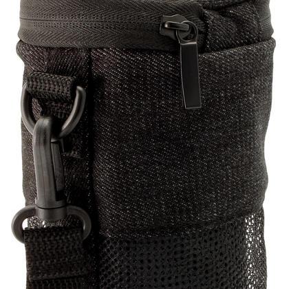 iGadgitz Black Fabric Travel Carrying Bag for Bose SoundLink Revolve Bluetooth Speaker with Detachable Shoulder Strap Thumbnail 3